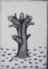 Growing Tree, Andrew Schoultz
