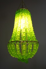 Chandelier Mini Green #1, YaYa Chou