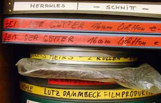 Film roles in Dammbeck studio, Hamburg 2010 ,