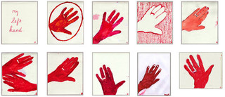 My Left Hand,Louise Bourgeois