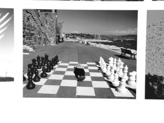 Chess on Beach,