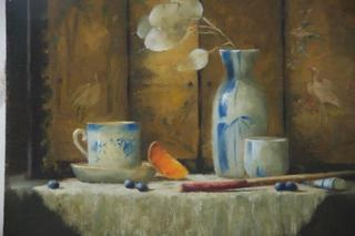 Blueberries and Tea, Brenda Gibson