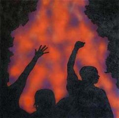 Untitled (L.A. Riots), Rico Gaton