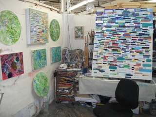 Studio shot 2011, studio #173, Jeff Riley