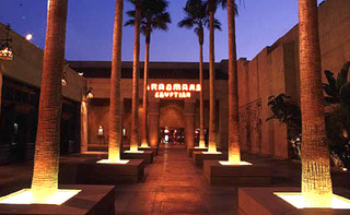 Egyptian Courtyard,