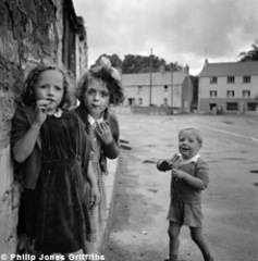 Children, Laugharne, Wales, Philip Jones Griffiths