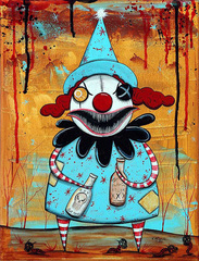 Nightmare Clown 1,Milovic