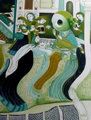 Nayika Sringar, series by Bob I,II,III, Princess Pea