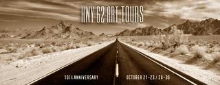 HWY 62 Art Tours Oct 21-23 / Oct 28-30, 2011,