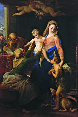 The Holy Family  , Pompeo Girolamo Batoni