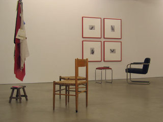 installation view: I am never at home,
