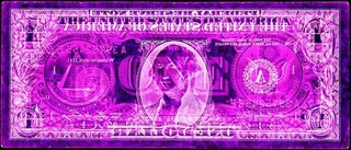 Negative Currency Project: US Dollar ,David LaChapelle