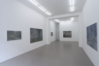Installation view: second, Ina Bierstedt