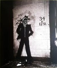 Richard Hambleton & Jean Michel Basquiat collaboration , Hank O\'Neal