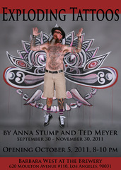 Exploding Tattoos, Ted Meyer, Anna Stump