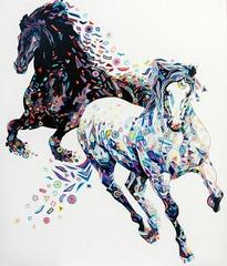 Due cavalli , MARKOVA IRINA