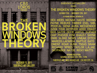 The Broken Windows Theory, HASTE