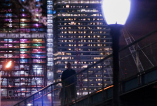 Battery Park City Friday Night ,Jay Fine