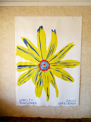 Flower Encounter Group-Loyalty/ Sunflower, Sally Apfelbaum