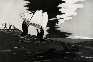 no world, from An Unpeopled Land in Uncharted Waters), Kara Walker