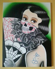 Tattoo Girl, Diego Olivares