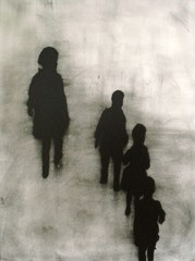Siblings. Shadows., Angela Simione