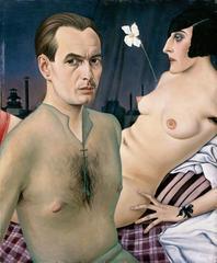 Self-portrait, Christian Schad