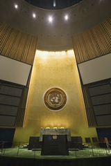 United Nations General Assembly, New York, NY, Richard Ross
