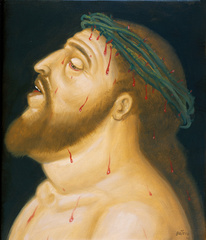 Head of Christ/ Cabeza de Cristo, Fernando Botero