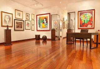 Beverly Hills Art Gallery, Pablo Picasso, Tom Wesselmann, Henri Matisse, René Magritte