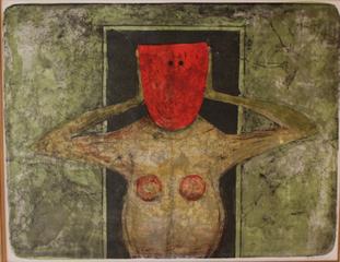 Mascara Rojo from Mujer Suite, Rufino Tamayo