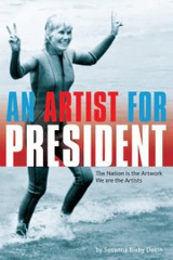 \'An Artist For President\' book cover,