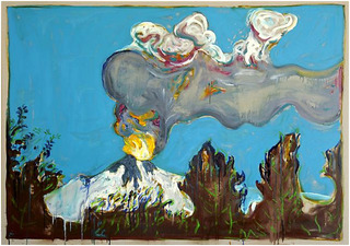 Erupting Volcano, Chile,Billy Childish