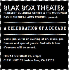 A Celebration of a Decade Oct. 21, 2011 7-9pm,