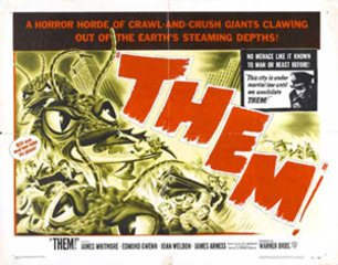 """SMITHS RANCH DRIVE IN PRESENTS:  """"THEM"""" (1954)  FRIDAY October 28, 2011,"""