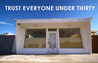 """""""Trust Everyone Under Thirty"""" Special, Outdoor """"Under 30"""" Concert  SATURDAY October 22, 3pm,"""