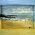 Bb_-_bathers_on_wet_sand__ballybunion__2004__5_x_7__wood___30_
