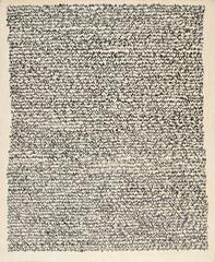 Eigenschriften, Irma Blank