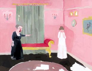 Out of Favor (Scene from Vanity Fair), Jennie Ottinger