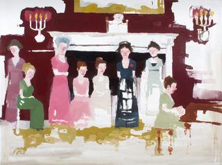 Polite Company (Scene from Vanity Fair), Jennie Ottinger
