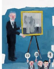 Auction (Scene from Vanity Fair), Jennie Ottinger