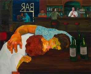 Sloppy Bar Room Kiss,Nicole Eisenman