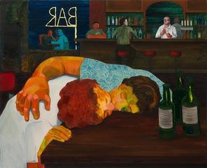 Sloppy Bar Room Kiss, Nicole Eisenman