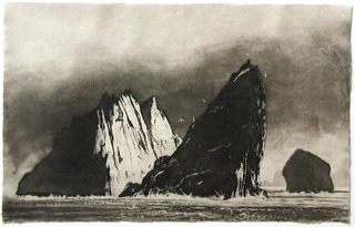 Stac an Armin-Evening, Norman Ackroyd