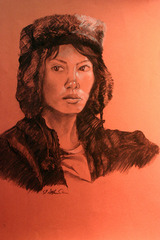 Self-Portrait, Kacie Chin