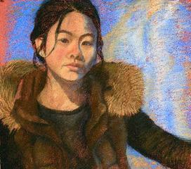 Self-Portrait, Student of Wendy Shalen