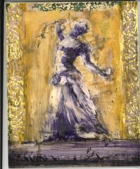 Gold and Purple Dancer, Alicia Rothman