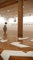 installation view, Andreas Fogarasi