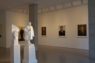 Installation view of \'Lived, Lives, Will Live!\', The Propeller Group