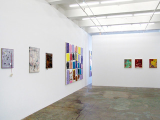 """of certain instability"" (installation view), Nolan Simon, Whitney Claflin, Hans-Peter Thomas"